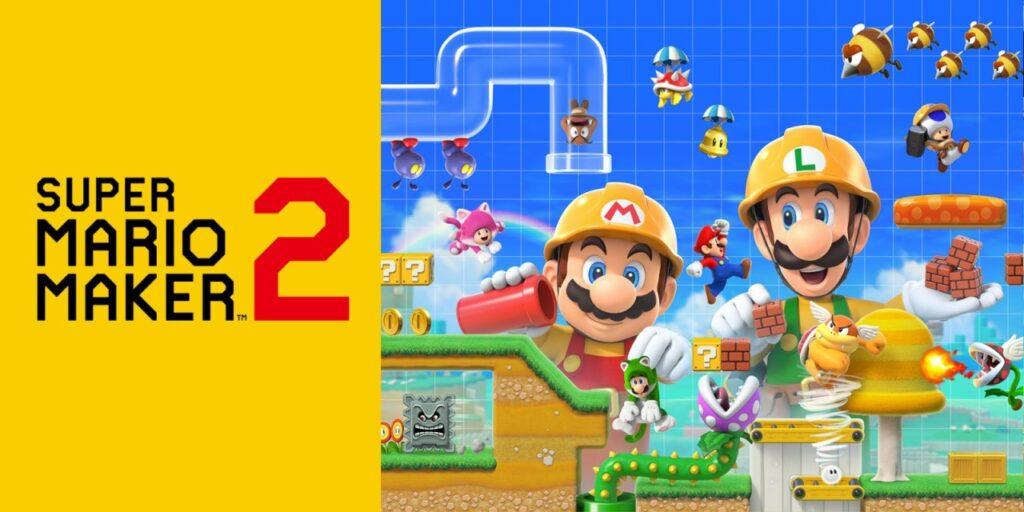 Cover image of Super Mario Maker 2