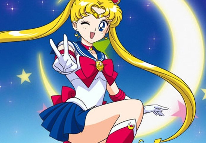 Image from Sailor Moon anime.