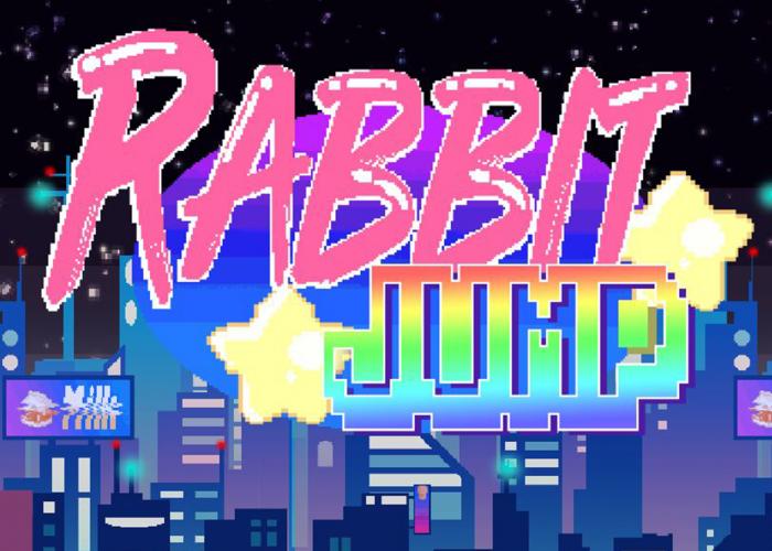 Rabbit Jump Logo by Yeray Toledano